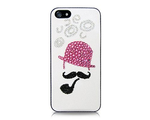 Beard Bling Swarovski Crystal Phone Cases