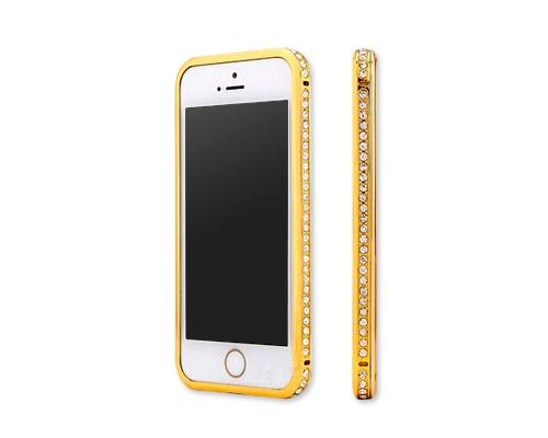 Bumper Series iPhone 6 Crystal Case (4.7 inches) - Gold