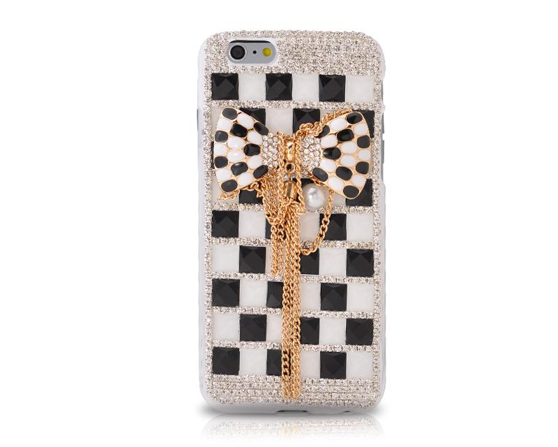 Luxury Diamond Series Bling iPhone 6 Crystal Case (4.7 inches) -Ribbon