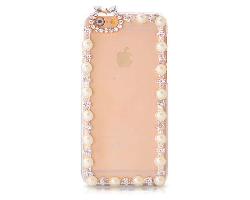 Chic Bow Series Bling iPhone 6 Crystal Case (4.7 inches) - Gold 2