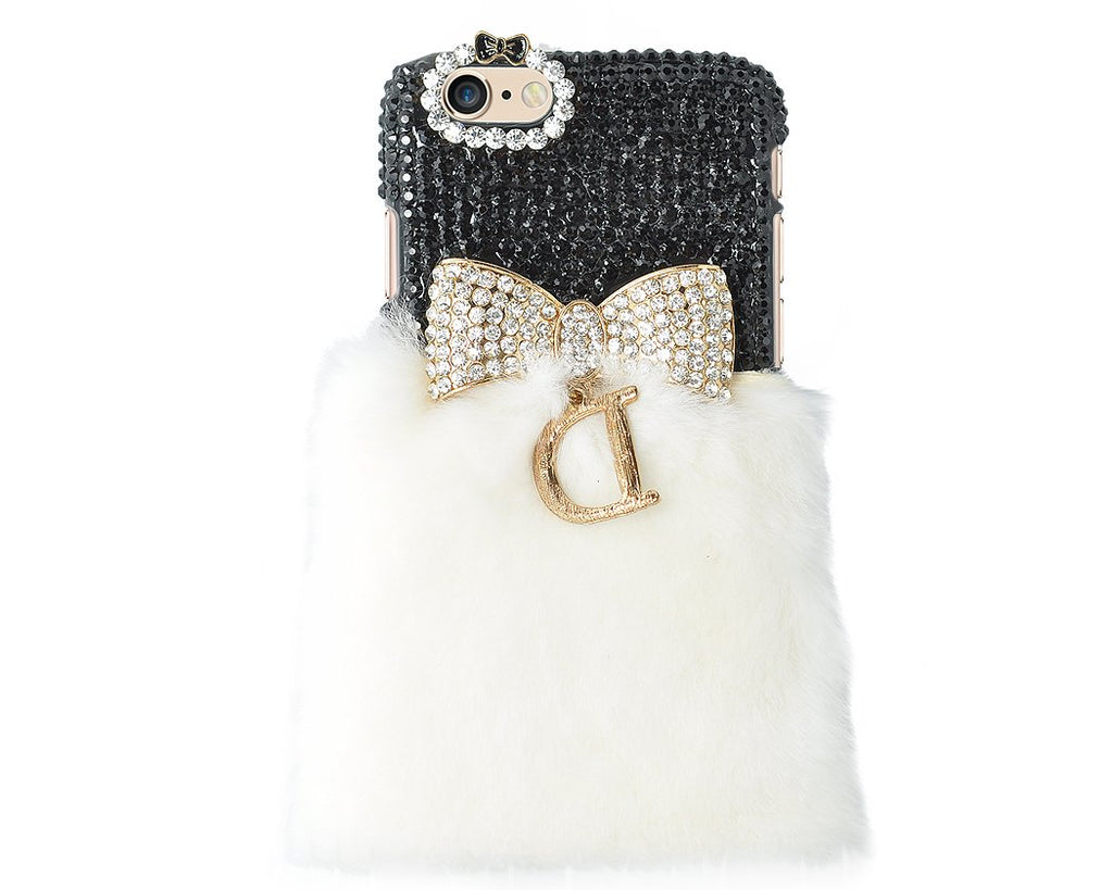 Stylish Furry Series iPhone 6 and 6S Crystal Case - Black