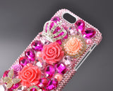 Rainbow Rhinestone Series iPhone 6 Crystal Case - Queen