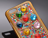 Rainbow Rhinestone Series iPhone 6 and 6S Crystal Case - Retro