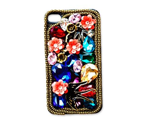 Rainbow Rhinestone Series iPhone 6 and 6S Crystal Case - Avaler