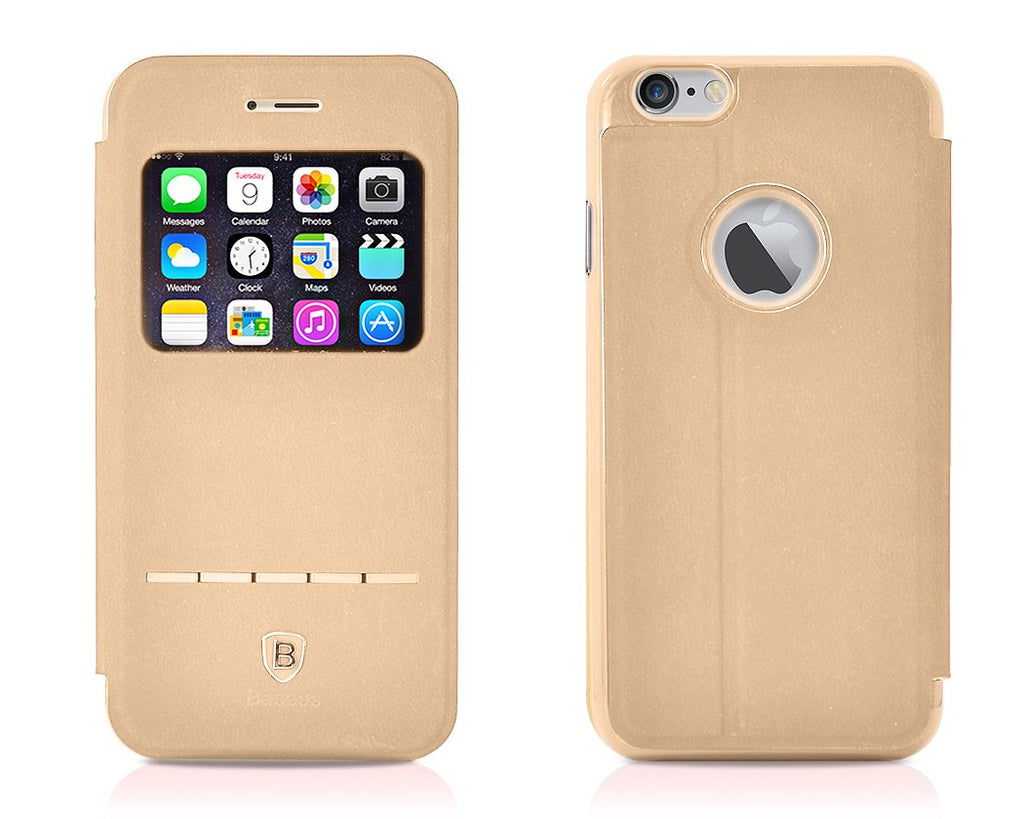 Eyelet Pro Series iPhone 6 Flip Leather Case (4.7 inches) - Khaki