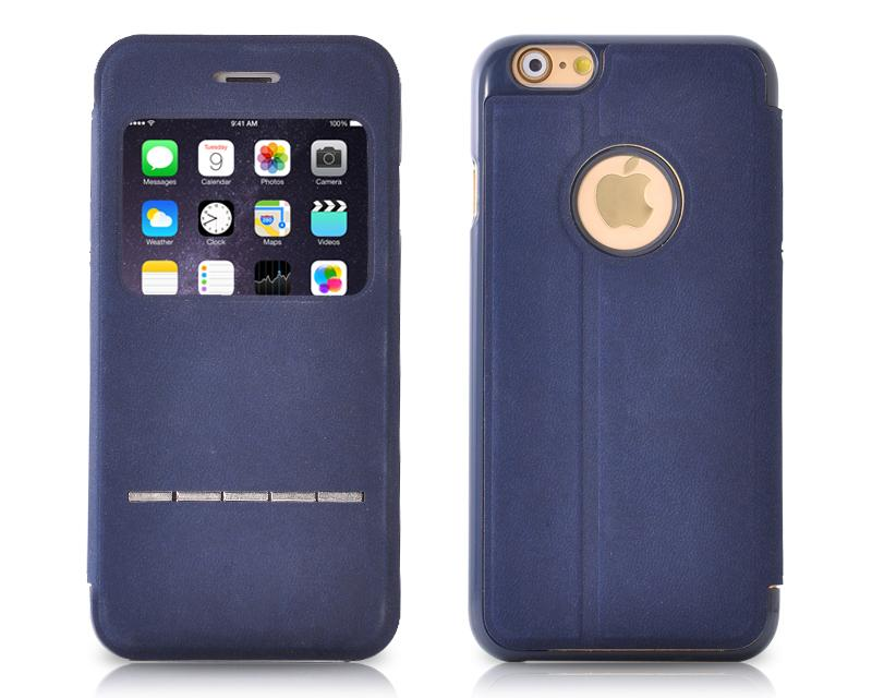 Eyelet Pro Series iPhone 6 Flip Leather Case (4.7 inches) - Blue