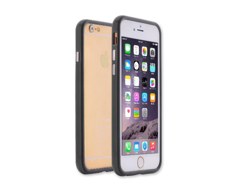 Bumper Series iPhone 6 and 6S Silicone Case - Black