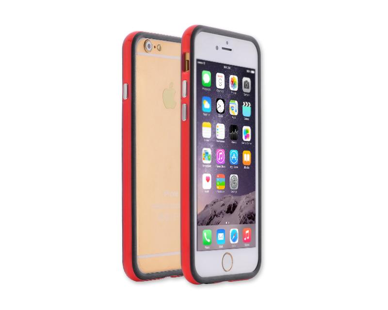 Bumper Series iPhone 6 Silicone Case (4.7 inches) - Red