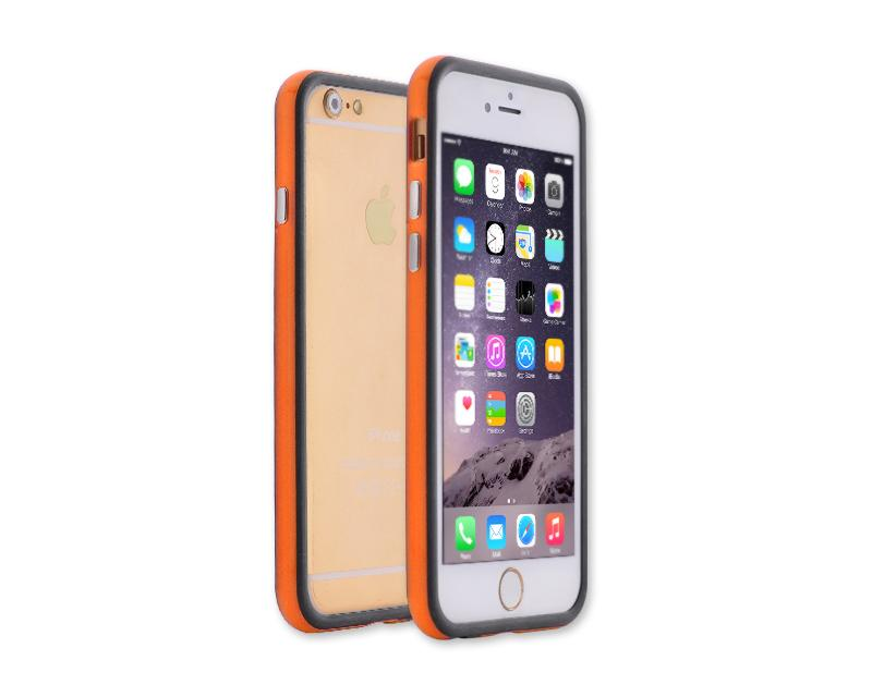 Bumper Series iPhone 6 Silicone Case (4.7 inches) - Orange