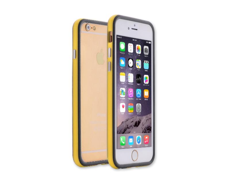 Bumper Series iPhone 6 and 6S Silicone Case - Yellow