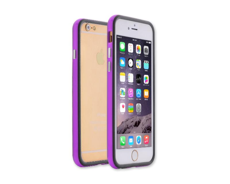 Bumper Series iPhone 6 and 6S Silicone Case - Purple