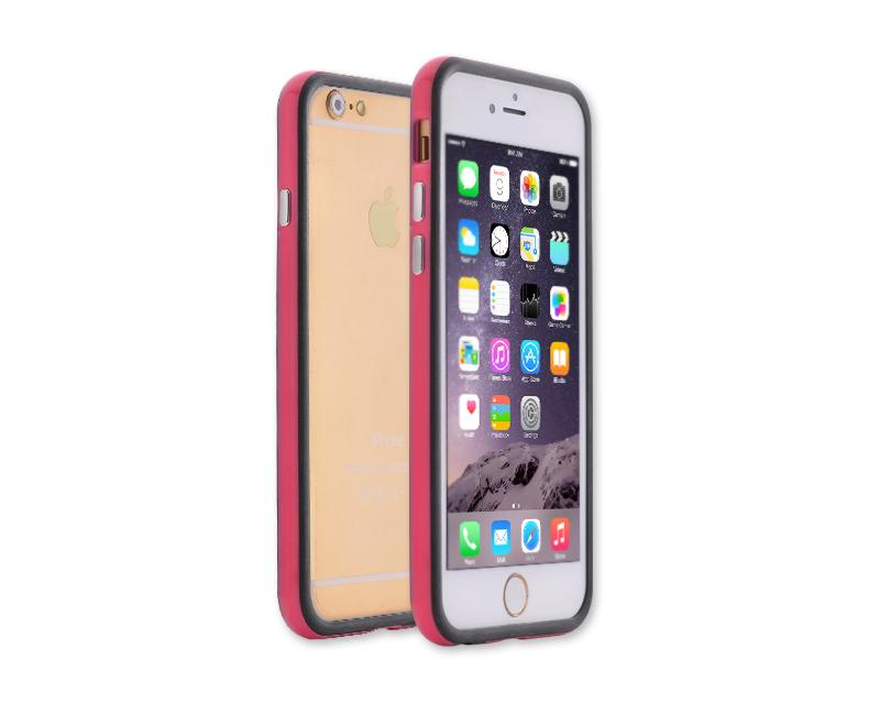 Bumper Series iPhone 6 and 6S Silicone Case - Pink