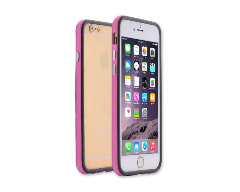 Bumper Series iPhone 6 and 6S Silicone Case - Magenta