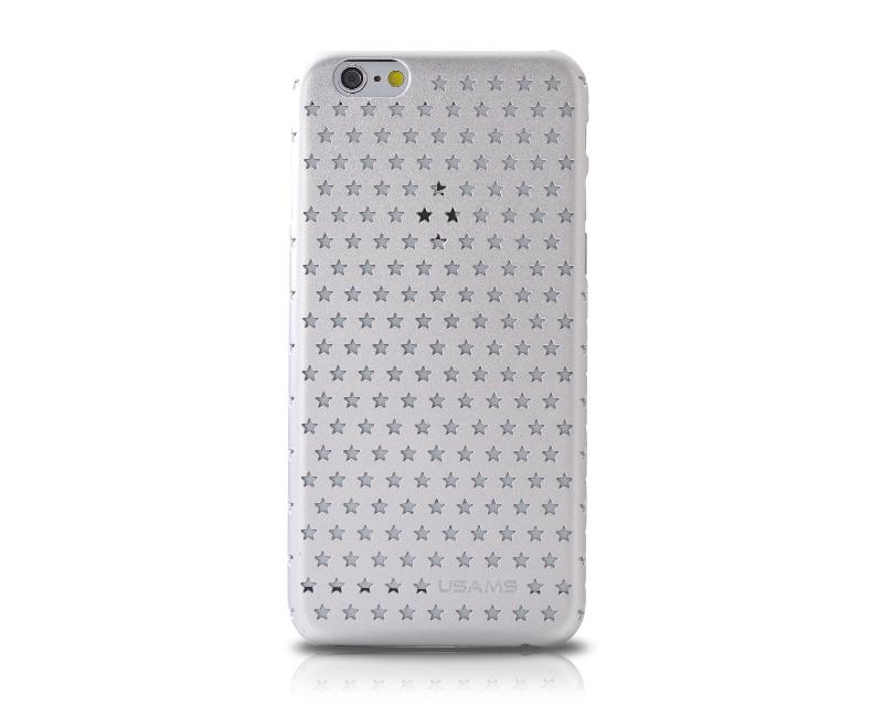 Hollow Star Series iPhone 6 and 6S Case - Silver