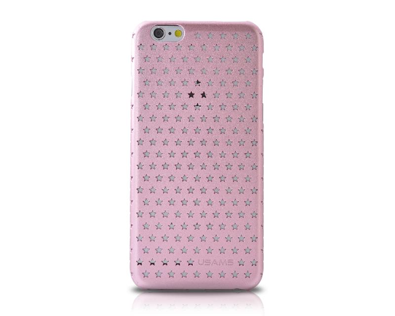 Hollow Star Series iPhone 6 and 6S Case - Pink