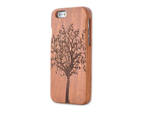 Genuine Wood Series iPhone 6 and 6S Case - Tree