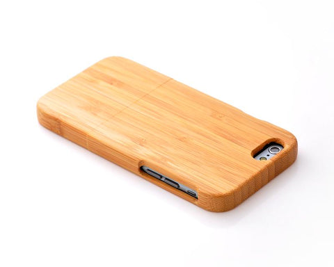 Genuine Wood Series iPhone 6 and 6S Case - Light Brown