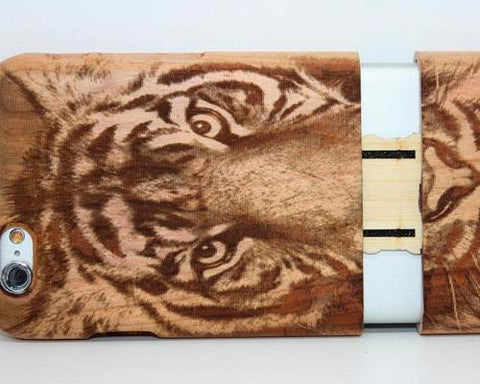 Genuine Wood Series iPhone 6 Case (4.7 inches) - Tiger