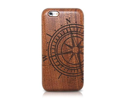 Genuine Wood Series iPhone 6 Case (4.7 inches) - Nautical Needle