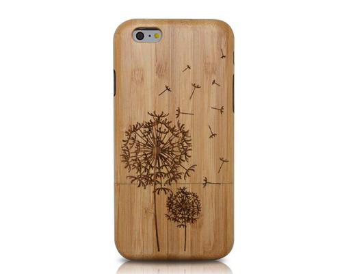 Genuine Wood Series iPhone 6 and 6S Case - Dandelion