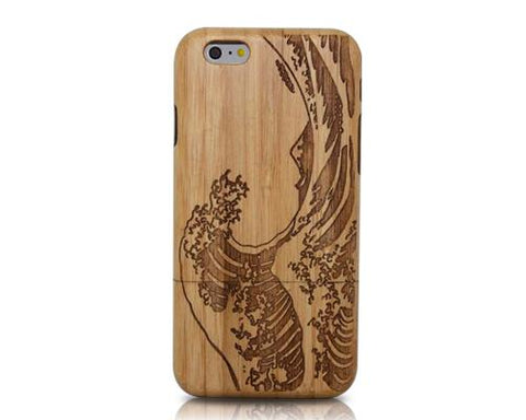 Genuine Wood Series iPhone 6 and 6S Case - Wave