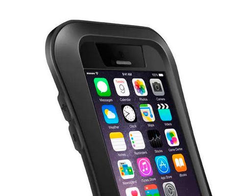 Waterproof Pro Series iPhone 6 and 6S Metal Case - Black