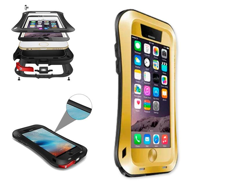 Waterproof Pro Series iPhone 6 Metal Case (4.7 inches) - Gold