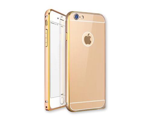 Stylish Bumper Series iPhone 6 Aluminum Case - Gold