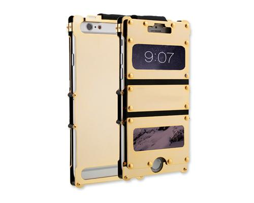 Armor King Series iPhone 6  Aluminium Case (4.7 inches) - Gold