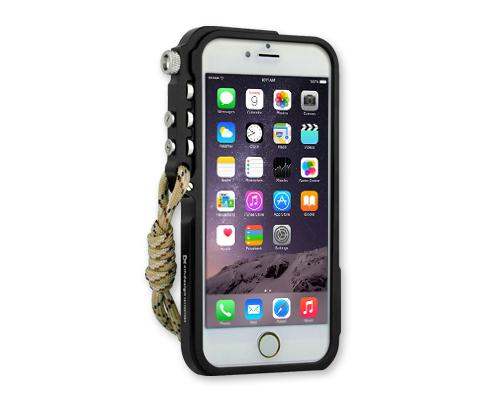 Trigger Arm Series iPhone 6 and 6S Bumper Aluminum Case - Black