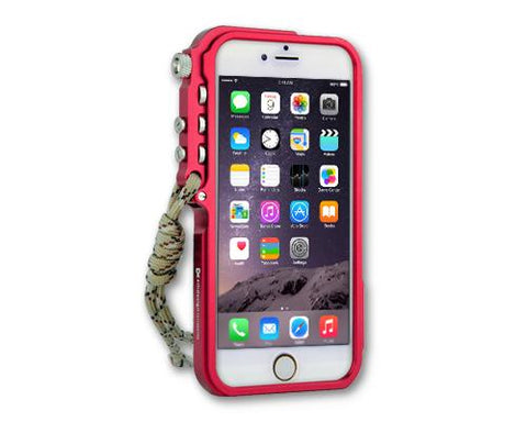 Trigger Arm Series iPhone 6 and 6S Bumper Aluminum Case - Red