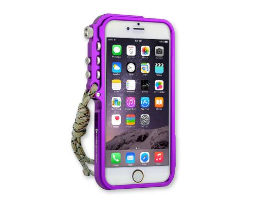 Trigger Arm Series iPhone 6 and 6S Bumper Aluminum Case - Purple