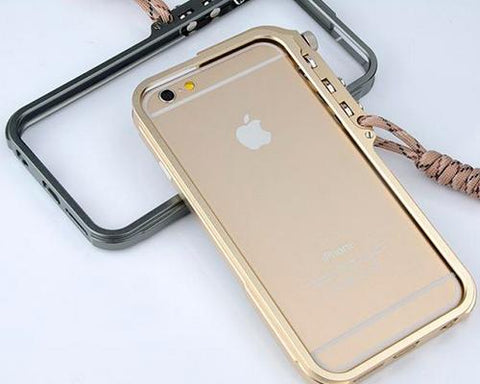 Trigger Arm Series iPhone 6 and 6S Bumper Aluminum Case - Gold