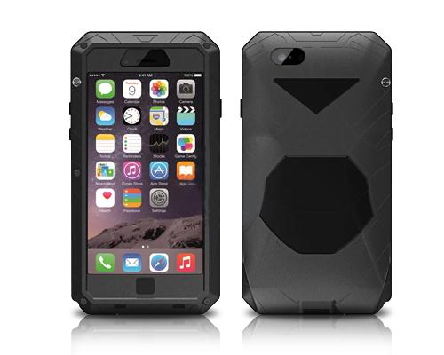 Armor Series iPhone 6 and 6S Metal Case - Black