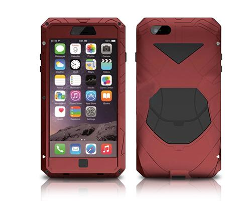 Armor Series iPhone 6 and 6S Metal Case - Red