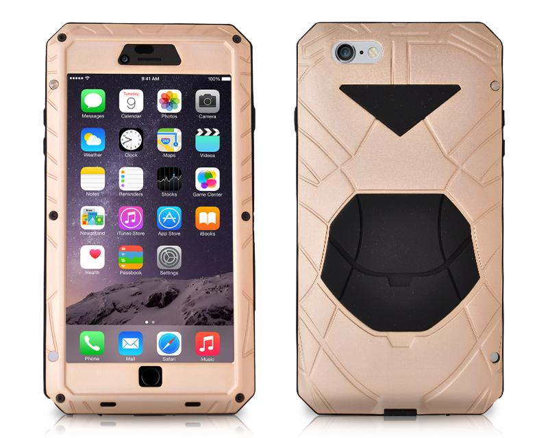 Armor Series iPhone 6 and 6S Metal Case - Champagne