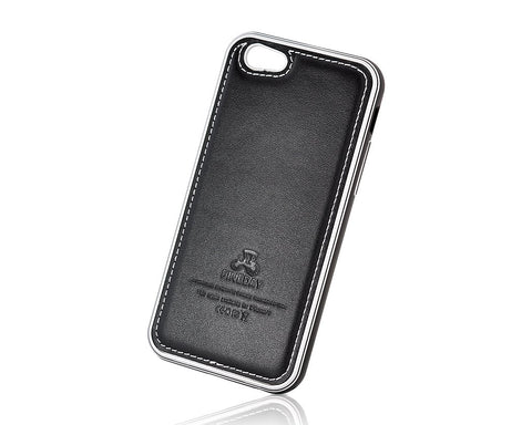 Seam Series iPhone 6 Genuine Leather Case (4.7 inches) - Black