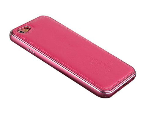 Seam Series iPhone 6 Genuine Leather Case (4.7 inches) - Magenta