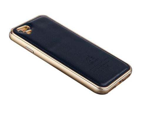 Seam Series iPhone 6 Genuine Leather Case (4.7 inches) - Navy