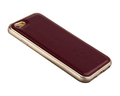 Seam Series iPhone 6 Genuine Leather Case (4.7 inches) - Burgundy