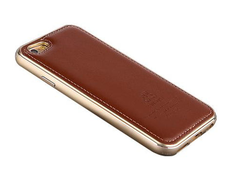 Seam Series iPhone 6 Genuine Leather Case (4.7 inches) - Brown