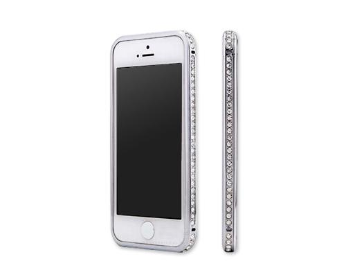 Bumper Series iPhone 6 Plus and 6S Plus Crystal Case - Silver