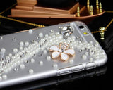 3D Diamond Series iPhone 6 Plus and 6S Plus Crystal Case - Flower