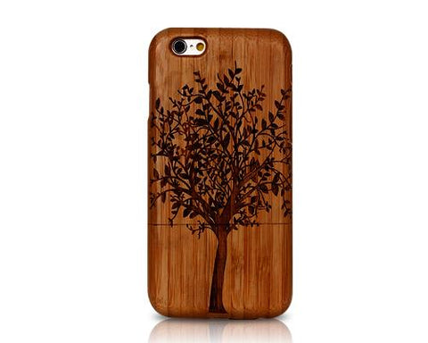 Genuine Wood Series iPhone 6 Plus and 6S Plus Case - Tree