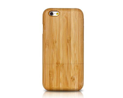 Genuine Wood Series iPhone 6 Plus Case (5.5 inches) - Light Brown