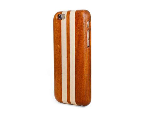 Genuine Wood Series iPhone 6 Plus and 6S Plus Case - Stripes