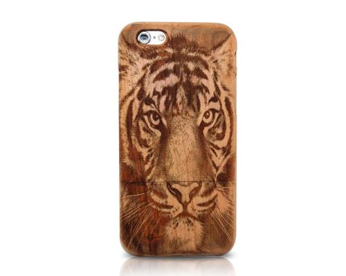 Genuine Wood Series iPhone 6 Plus Case (5.5 inches) - Tiger