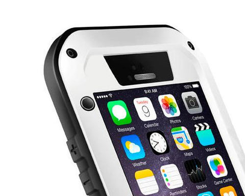 Waterproof Series iPhone 6 Plus Metal Case (5.5 inches) - White