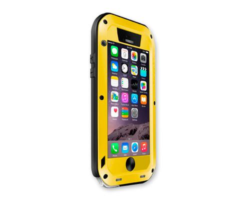Waterproof Series iPhone 6 Plus Metal Case (5.5 inches) - Yellow