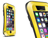 Waterproof Pro Series iPhone 6 Plus Metal Case (5.5 inches) - Yellow